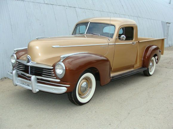 (1947 Hudson Pick-Up) My future husband will have my support to indulge in a love for all this vintage with a motor and wheels, as long as there's a solid roof overhead, food on the table, bills are paid and I get to drive it.