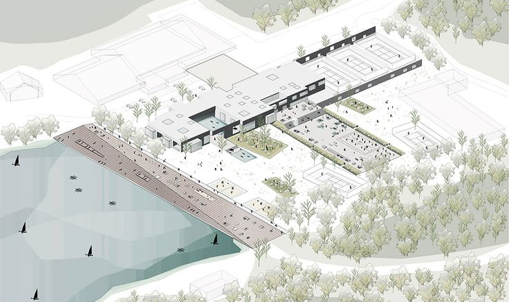 Centre aqualoisirs – Mikou Studio