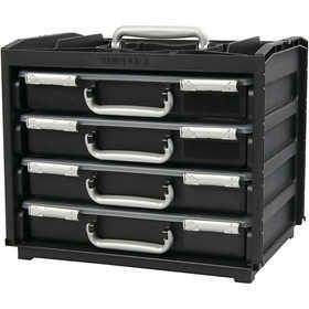 #Handybox met meerdere #opslag #boxen, lxbxh 37,6x26,5x31 cm, 1 set