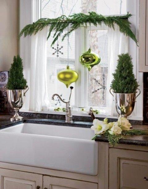 nice christmas window decor   # Pin++ for Pinterest #