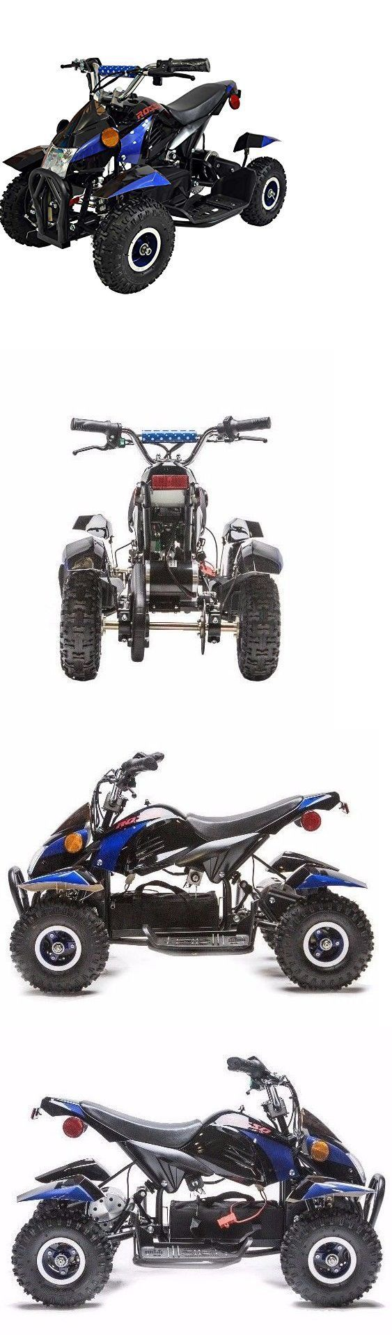 Ride On Toys and Accessories 145944: 500W Kids Atv Kids Quad 4 Wheeler Ride On With 36V Electric Battery For Kids -> BUY IT NOW ONLY: $497 on eBay!