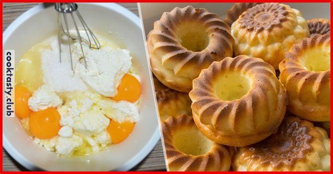 ИНГРЕДИЕНТЫ: творог — 200 г, ванилин — щепотка, сахар — 3 ст л, сметана — 5 ст л, яйца — 2 шт, манка — 3 ст л, 2 ст л сливочного масла мягкого, 1 ч л разрыхлителя ПРИГОТОВЛЕНИЕ: Сначала творог смешаем с сахаром, ванилином и яйцами. Затем добавим масло, манку, разрыхлитель и сметану. Тщательно перемешиваем …
