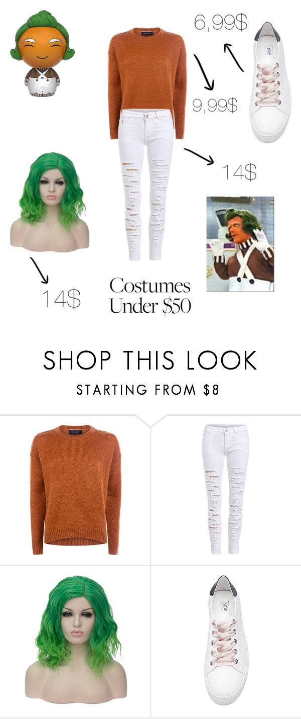 """Umpa Lumpa"" by kawaiipusheen00 ❤ liked on Polyvore featuring Steve Madden, Funko, Halloween and costumesunder50"
