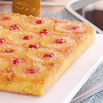 Sandra Lee -Pineapple Upside Down Cake                                                                                                                                                                                 More