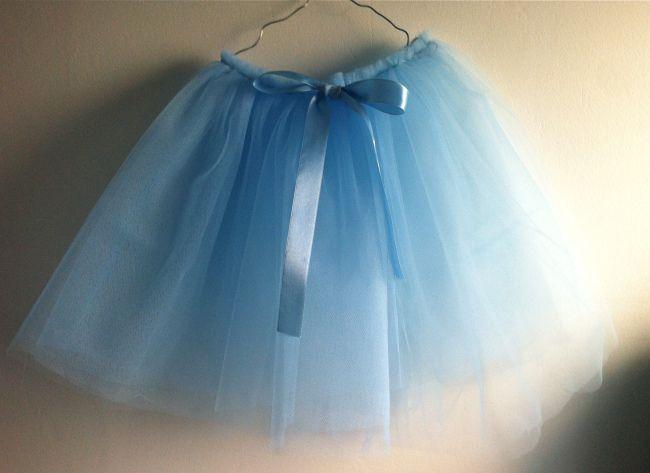 Easy#tulle skirt#DIY#for kids