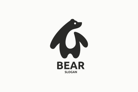 Bear Logo Template                                                                                                                                                                                 More