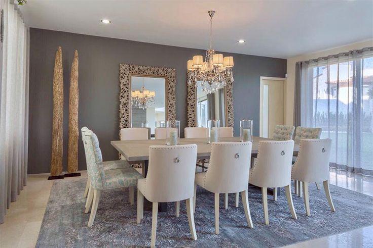 Comedor elegante comedores pinterest room house and for Grand miroir de salon
