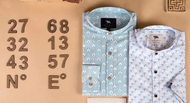 Buy THE RIVER BLUE luxury shirts for men online at Andamen at the best price
