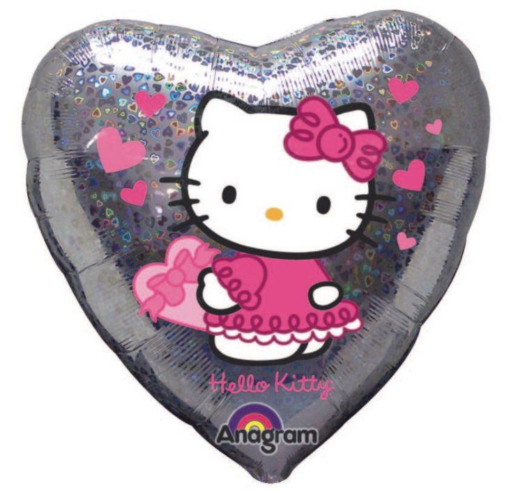 Fóliový balónek Hello Kitty Holographic 45 cm | BALONKY .CZ
