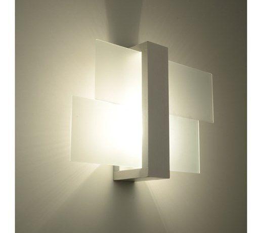 Lampa ścienna w stylu skandynawskim Designerski Kinkiet FENIKS 1 w kolorze białym - Lampy ścienne - zdjęcia, pomysły, inspiracje - Homebook