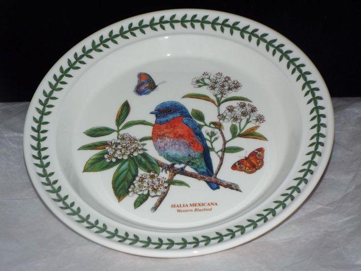 Portmeirion Botanic Garden Birds 10.5  DINNER PLATE WESTERN BLUEBIRD New & 19 best Portmeirion images on Pinterest | Cutlery Dinner ware and ...