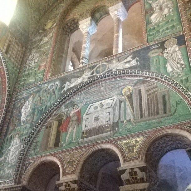 Basilica di San Vitale. #Ravenna #mosaici #storia #arte