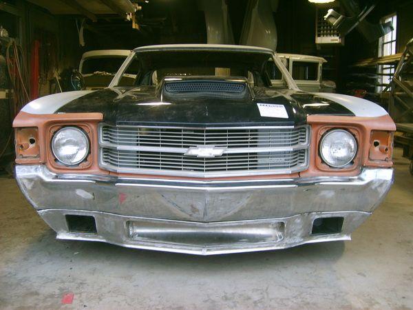 1971 Chevrolet Chevelle Pro Touring Spoiler Body Kit