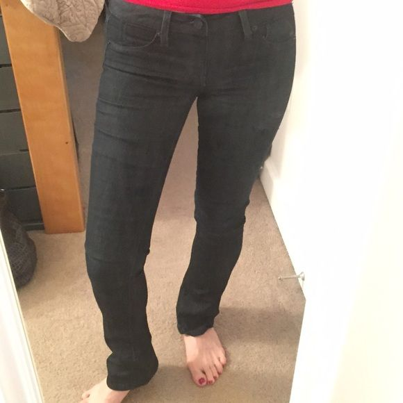 BABY Bell Dark Denim Jeans Columbus Baby Bell by SOLD. PURCHASED AT Bloomingdales. SOHO NYC. These are PULL UPS and fit fantastic! Sold Jeans