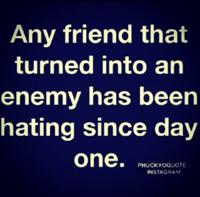 Unless Betrayal Was Involved I Say If Someone Can Turn Against You