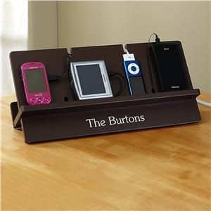 Charging Station from Lillian Vernon - Charge all your family's devices in an organized way! http://www.lillianvernon.com/Product/ChargingStations#