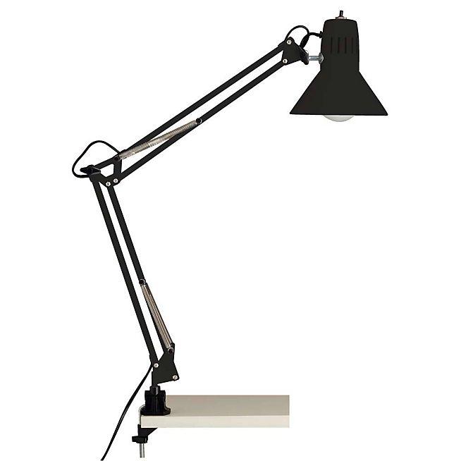 Hobby Lampe de bureau articulée en métal noir H70cm