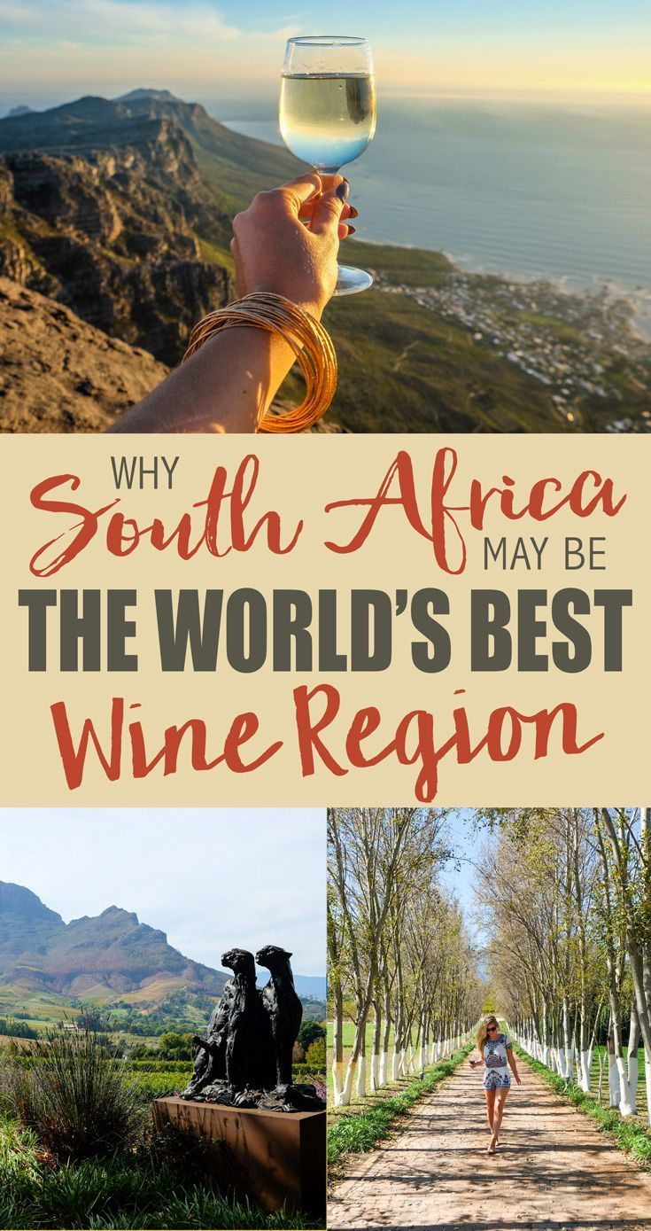 In case you haven't heard the big news . . . I am in love! I have fallen completely head over heels for South African wines.South Africa is truly one of the most stunning countries I have ever visited and its wine regions are second to none. While there are a countless number of ways this beautiful, diverse country will sweep you off your feet…here's why I think South Africa may by the world's best wine region!