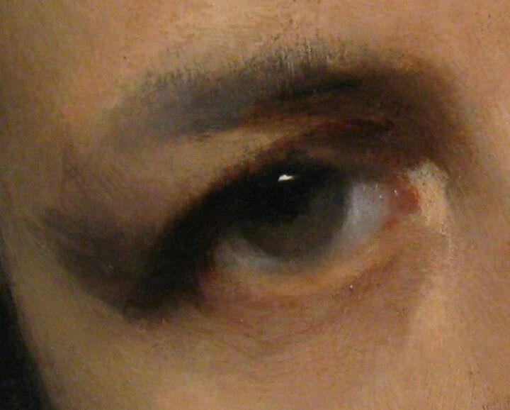 John Singer Sargent's portrait of Carolus Duran (detail)/// INSPO