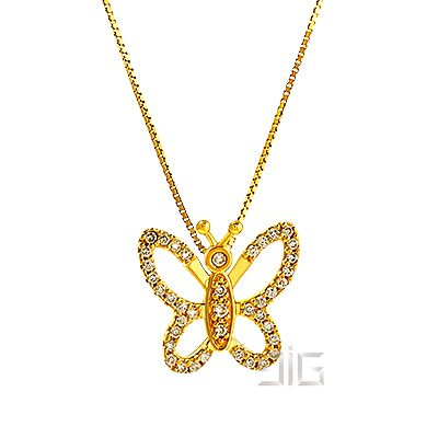 Small butterfly pendant - available for order