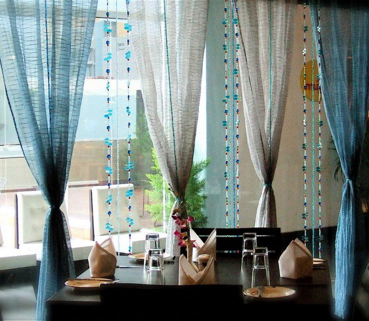 Dining Room Curtains Giving A Beautiful Protection For Your Space Modern