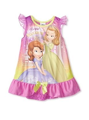 57% OFF Kid's Royal Sisters Nightgown (Pink)