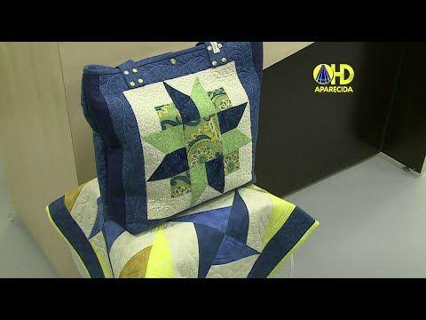 Vida com Arte | Bolsa em Patchwork por Ana Consentino - 20 de Novembro de 2014 - YouTube
