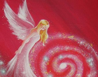 Limited angel art photo way in your heart modern by HenriettesART