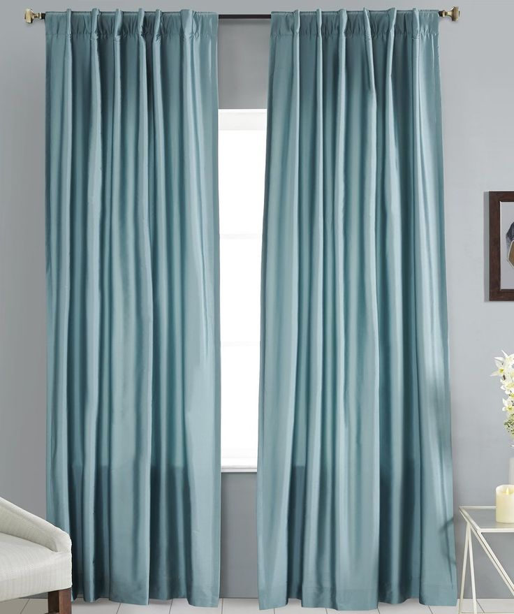 #P550 Dusty Faux Silk Curtain (Use Discount Code) YOU PAY 1/2 DOWN