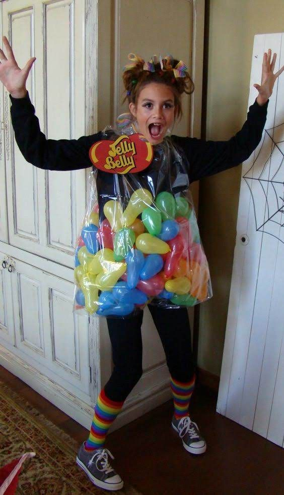 Original Halloween Costume Ideas 2019.Candy Costume Jelly Bean Costume Easy Costume Halloween In