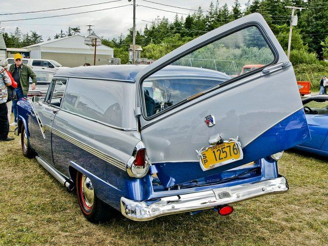 1956 Courier | sedan delivery | check out the merc' tail lites