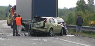 Nehoda se zraněním u Třemošné