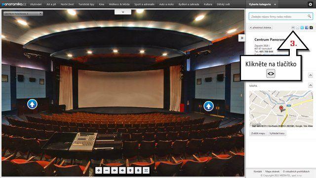 Díky spolupráci s Asociací provozovatelů kin si můžete vybraná kina prohlédnout prostřednictvím 3D virtuálních prohlídek na Panoramika.cz. #3D #Mediatelcz