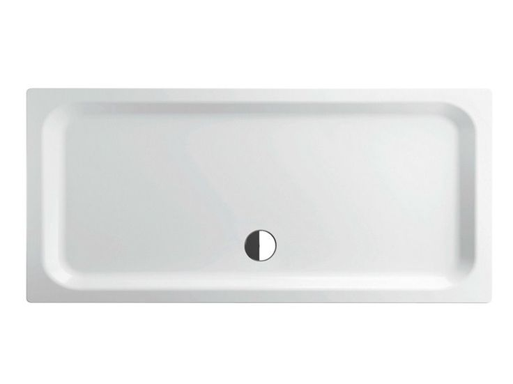 Rectangular enamelled steel shower tray EXTRAFLACH | Rectangular shower tray - Bette