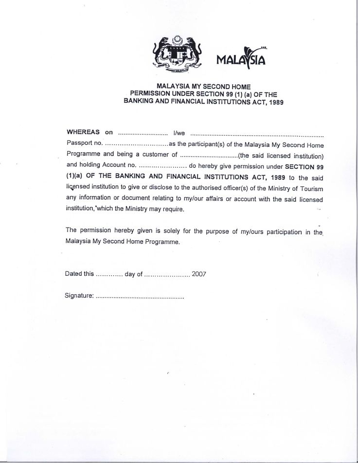 Malaysia Visa Application Letter Writing A Re Papervisa