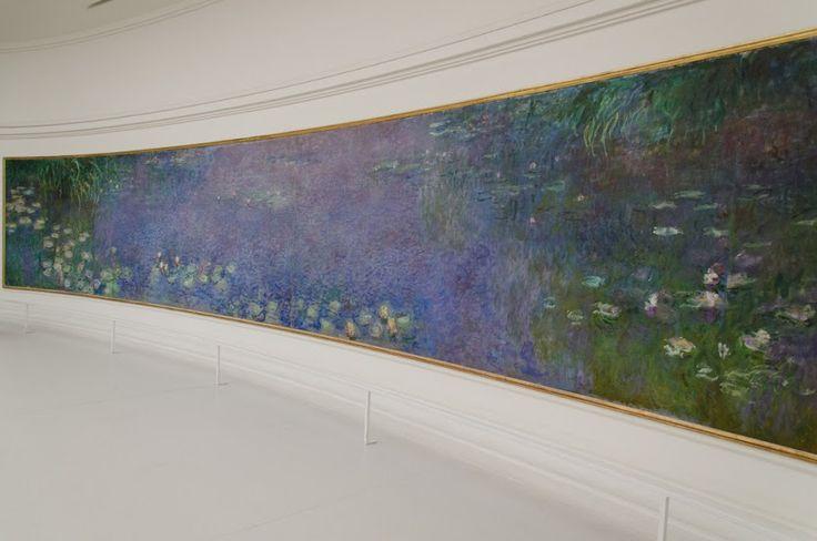 Claude Monet, Nympheas L'Orangerie Museum, Paris