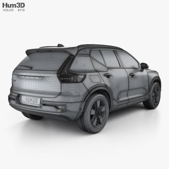 Volvo XC40 With HQ Interior 2017 (With Images
