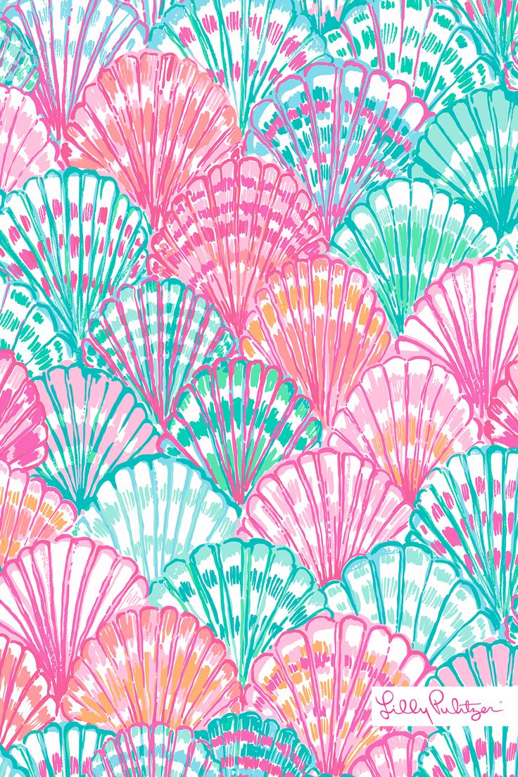 Lilly Pulitzer Oh Shello Mobile Wallpaper