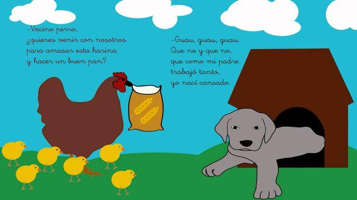 Cuentos infantiles - La gallina Marcelina. CUENTOSTUBE.COM