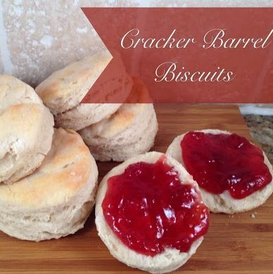 These biscuits taste just like the ones from Cracker Barrel. Plus, they are so easy to make. Have these delicious biscuits for dinner tonight.