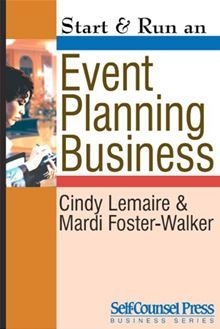Make money planning events with style and impress your clients — from weddings to meetings! Start & Run an Event Planning Business shows you how to start and run a successful enterprise by planning…  read more at Kobo.