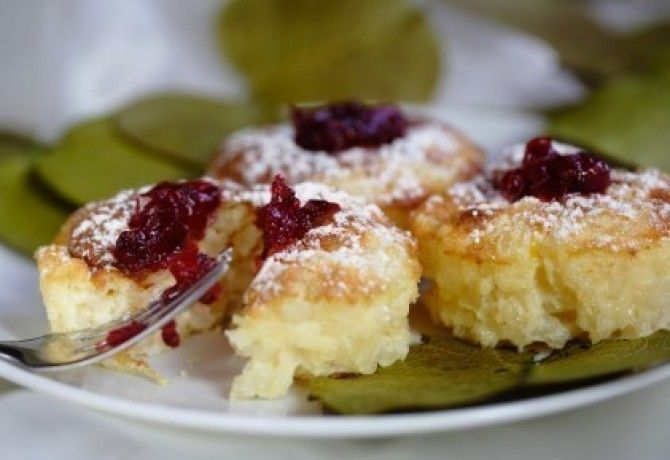 Citromos risotto muffin