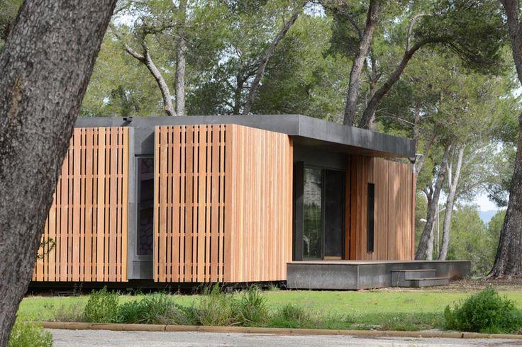 Pop Up House - La maison passive à assembler par le studio Multipod / maison écologique / Maison en bois / Yooko / Architecture