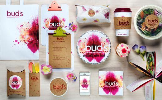 Buds-Edible-Flower-Food-Truck-logo-design-branding-Steph-Lin