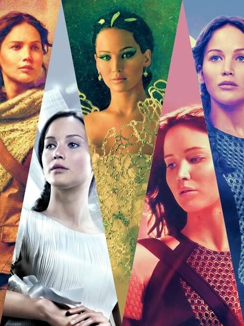"""Katniss Everdeen """"the girl on fire""""  The Hunger Games 2012  The Huger Games:Catching Fire 2013"""