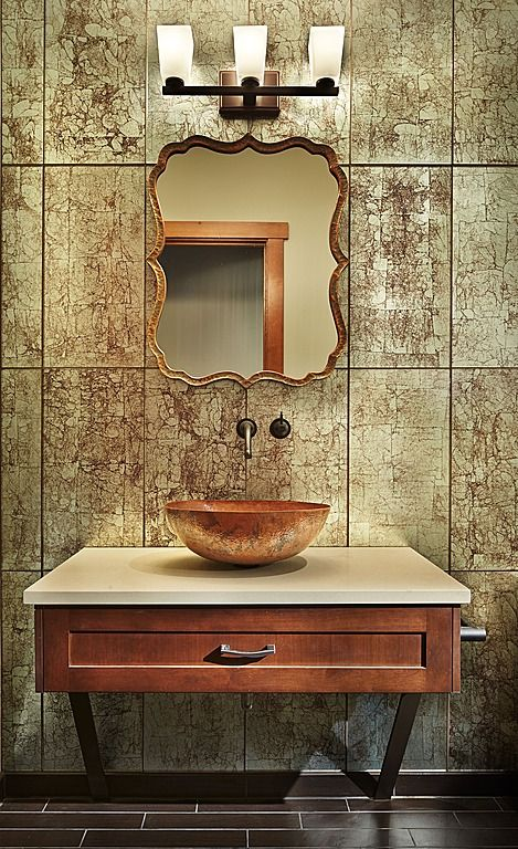 Fresh Unique Mirrors for Powder Room