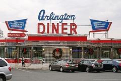 My favorite diner ...Arlington Diner, North Arlington, NJ.