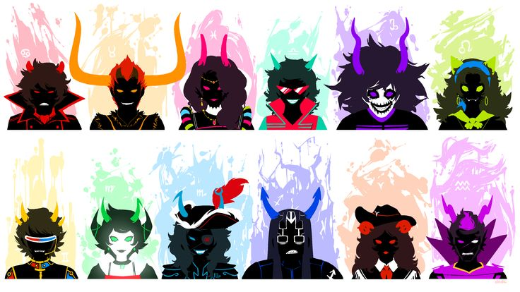 homestuck ancestors - Google Search