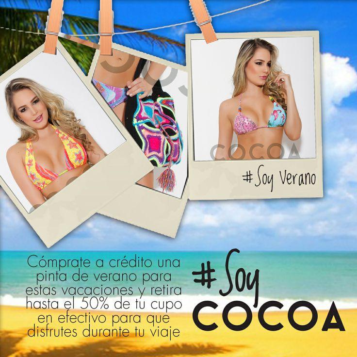En @Cocoa Jeans pensamos en ti, por eso diseñamos un crédito especial para darte comodidad. #SoyVerano #SoyPráctica #SoyCocoa