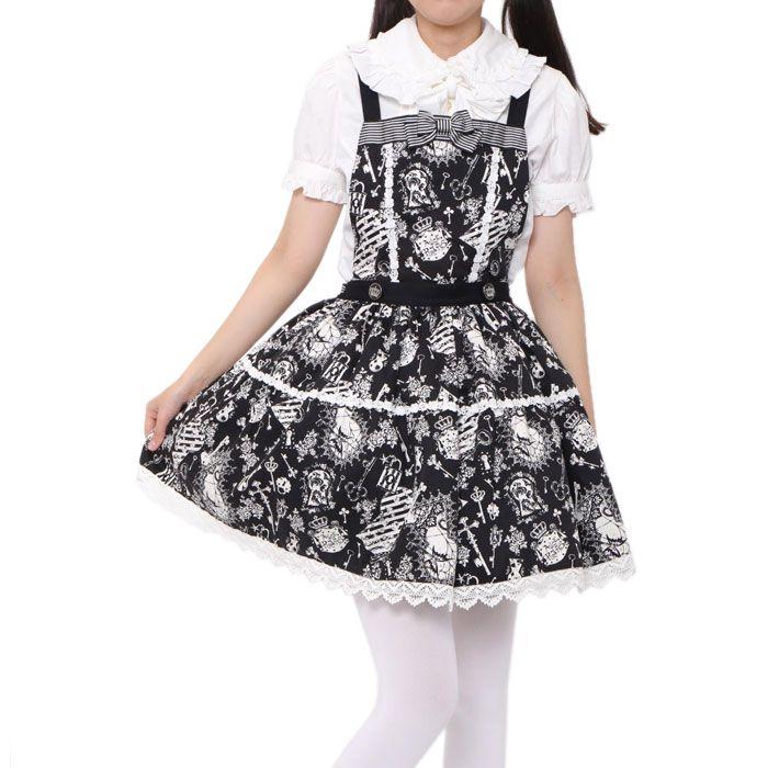 http://www.wunderwelt.jp/products/detail2385.html ☆ · .. · ° ☆ · .. · ° ☆ · .. · ° ☆ · .. · ° ☆ · .. · ° ☆ Black white suspenders skirt ALICE and the PIRATES ☆ · .. · ° ☆ How to order ☆ · .. · ° ☆ http://www.wunderwelt.jp/blog/5022 ☆ · .. · ☆ Japanese Vintage Lolita clothing shop Wunderwelt ☆ · .. · ☆ #aliceandthepirates